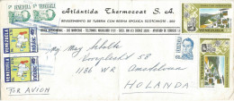 Honduras 1992 Seyda Oncidium Orchid Cathedral Discovery America Cover - Honduras