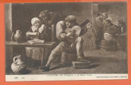 GAD-14 Teniers The Younger A Music Party. Mandoline. Pub Pour Horsine, Suc De Viande De Cheval. Circulé - Museen