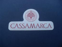 ADESIVO PUBBLICITARIO CASSAMARCA - BANCA - Adesivi