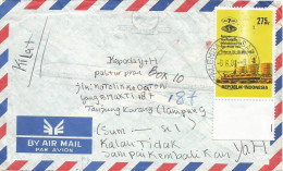Indonesia 1983 Palembang LNG Gas Minerals Domestic Cover - Mineralen