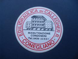 ADESIVO PUBBLICITARIO EDILIDRAULICA CALLEGHER - CONEGLIANO TREVISO - Adesivi