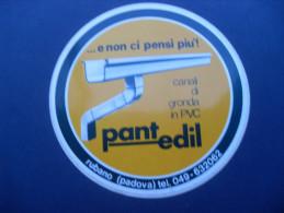 ADESIVO PUBBLICITARIO PANT EDIL - RUBANO PADOVA - Adesivi