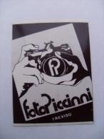 ADESIVO PUBBLICITARIO FOTO PICCINNI TREVISO - Adesivi