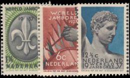 Netherlands 1937 Scouts Unmounted Mint. - Periodo 1891 – 1948 (Wilhelmina)