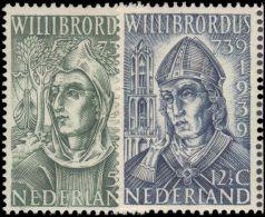 Netherlands 1939 St Willibrord Unmounted Mint. - Periodo 1891 – 1948 (Wilhelmina)