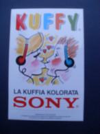 ADESIVO  PUBBLICITARO SONY KUFFY - Adesivi