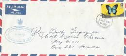 Solomon Islands 1974 Avuavu Postal Agency Papilio Domestic Cover - Solomoneilanden (1978-...)