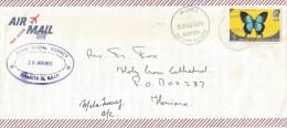 Solomon Islands 1973 Buma Postal Agency Auki Papilio Domestic Cover - Solomoneilanden (1978-...)