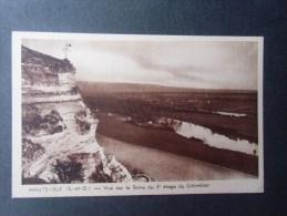 dep78 HAUTE-ISLE  vue sur le seine du 3e �tage du colombier
