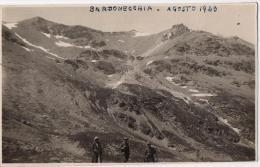 Foto Cartolina Di Gita A  Bardonecchia - Bardonecchia Agosto 1923 - Italia