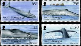 South Georgia 2012 - Faune Marine, Baleine Bleu   - 4v Neufs // Mnh - Géorgie Du Sud