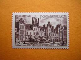 FRANCE : N° 878 NEUF**  CHATEAU DE FONTAINEBLEAU - Châteaux