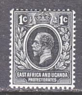 EAST AFRICA AND UGANDA  PROTECTORATES  40    * - Kenya, Uganda & Tanganyika