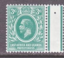 EAST AFRICA AND UGANDA  PROTECT.   41a  DARK  GREEN     *   Wmk. 3 - Kenya, Uganda & Tanganyika