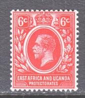 EAST AFRICA AND UGANDA  PROTECT.   42     *   Wmk. 3 - Kenya, Uganda & Tanganyika