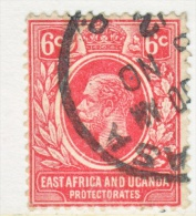 EAST AFRICA AND UGANDA  PROTECT.   42a  RE-ENGRAVED    (o)   Wmk. 3 - Kenya, Uganda & Tanganyika