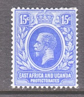 EAST AFRICA AND UGANDA  PROTECT.   45   *   Wmk. 3 - Kenya, Uganda & Tanganyika