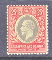 EAST AFRICA AND UGANDA  PROTECT.   46   *   Wmk. 3 - Kenya, Uganda & Tanganyika