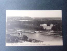 dep 69 LYON panorama du parc de la tete d'or et le pont de la boucle