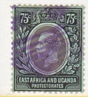 EAST AFRICA AND UGANDA  PROTECT.   48    BLACK-GREEN   (o)   Wmk. 3 - Kenya, Uganda & Tanganyika
