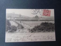 dep 69 LYON  le pont de la guillotiere et l'hotel dieu