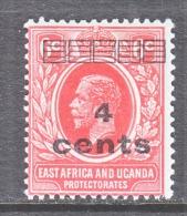 EAST AFRICA AND UGANDA  PROTECT.  62  * - Kenya, Uganda & Tanganyika