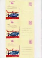 Publibel Neuve N°  2668/70 (Moulinex Libère La Femme) - Entiers Postaux
