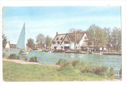 THE RIVER BURE AT HORNING FERRY NORFOLK BROADS USED 1969 - Autres