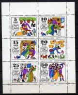 DDR  Kleinbogen   1450 - 1455 ** Postfrisch - DDR