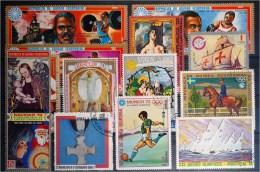 Guinea Ecuatorial-Lot Stamps (ST27) - Francobolli