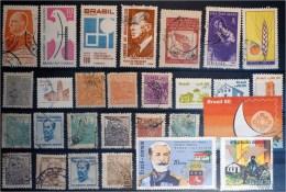 Brazil-Lot Stamps (ST50) - Collections (sans Albums)