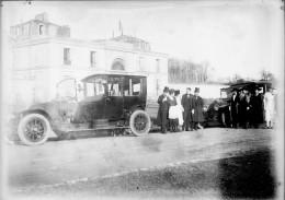D-PN - 997 PLAQUE PHOTO ORIGINALE - AUTOMOBILE  ANCIENNE PANHARD LEVASSEUR - Plaques De Verre