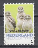 Nederland 2014   Persoonlijke Zegel : Holeuil Owl - Ungebraucht