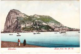 Gibraltar  - Rock From The N.W.  - (J. Ferrary & Co, Gibraltar  2)     - ( See 2 Scans) - Gibraltar