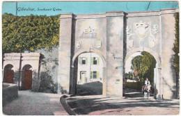 Gibraltar  - Southport Gates (1918)  - ( See 2 Scans) - Gibraltar