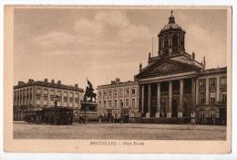 BELGIQUE . BELGIË . BRUXELLES . PLACE ROYALE - Ref. N°7015 - - Monuments