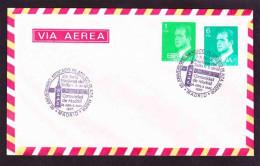 Spain On Air Mail Cover To South Africa - 1987 (1976) - King Juan Carlos I - 1931-Hoy: 2ª República - ... Juan Carlos I