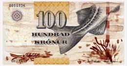 FAEROE ISLANDS 100 KRONUR 2011 Pick 30 Unc - Faeroër