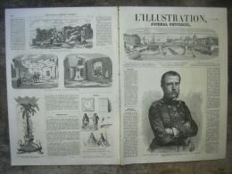 L�ILLUSTRATION 740 GRAND DUC CONSTANTIN DE RUSSIE/ TOULON/ BOHEMIENS/ BOIS DE BOULOGNE/ GAVARNI/ KRENDI 2 mai 1857