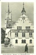 Friedrichshafen. Rathaus Mit Zeppelinbrunnen. - Friedrichshafen