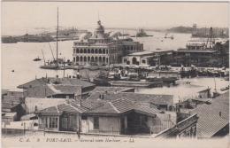 AK - Port Said - General View Harbour 1915 - Port Said