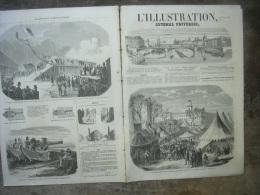L�ILLUSTRATION 742 PERA/ GRAND DUC CONSTANTIN/MUSSET /  DRAGONS DE L�IMPERATRICE/ CANON ENGSTROM/ PARIS/ TOULON 16 mai 1