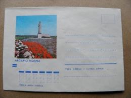 Cover From Lithuania, USSR Occupation Period, Musical Instrument 1973 831 Pirciupio Motina - Lituanie