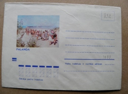 Cover From Lithuania, USSR Occupation Period, Musical Instrument 1973 832 Palanga - Lituanie