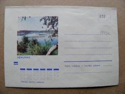 Cover From Lithuania, USSR Occupation Period, Musical Instrument 1973 838 Nemunas Neman River - Lituanie