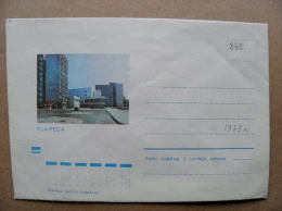Cover From Lithuania, USSR Occupation Period, Musical Instrument 1973 845 Klaipeda - Lituanie