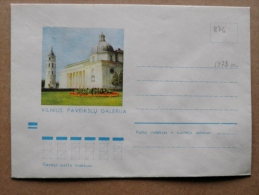 Cover From Lithuania, USSR Occupation Period, Musical Instrument 1973 876 Vilnius - Lituanie