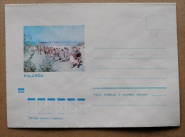 Cover From Lithuania, USSR Occupation Period, Musical Instrument 1973 878 Palanga - Lituanie