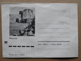 Cover From Lithuania, USSR Occupation Period, Musical Instrument 1973 888 Kaunas Castle - Lituanie