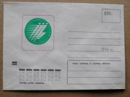 Cover From Lithuania, USSR Occupation Period, Musical Instrument 1974 889 Sport - Lituanie